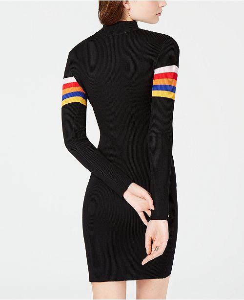Almost Famous Juniors Striped Sweater Dress Dresses Juniors