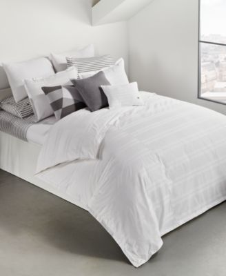 Sideline 3-Pc. Dobby Stripe Full/Queen Comforter Set, Created for Macy's
