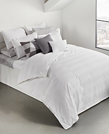 Lacoste Home Sideline 3-Pc. Dobby Stripe Full/Queen Comforter Set, Created for Macy's