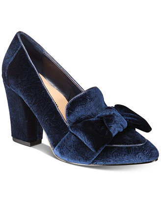Gala Ii Velvet Pumps by Bella Vita
