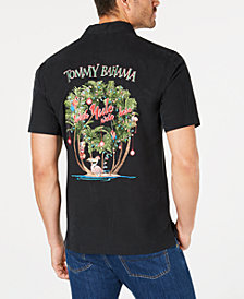 Tommy Bahama Men's Wish Yule Were Here Silk Shirt