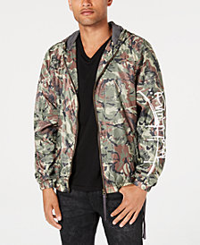 Punk Royal Men's Hooded Camo Jacket