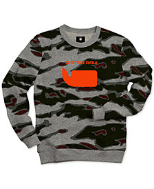 G-Star RAW Men's Sverre Camo Sweatshirt