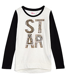 Epic Threads Big Girls Long-Sleeve Graphic-Print T-Shirt, Created for Macy's