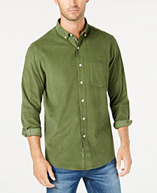 Club Room Men's Corduroy Shirt, Created for Macy's