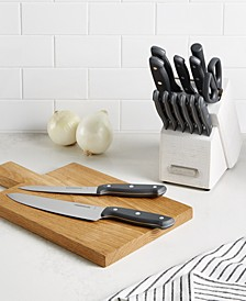 15-Pc. Rustic White Wash Cutlery Set