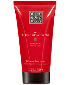 Receive a Complimentary The Ritual Of Ayurveda Body Cream with any $45 RITUALS purchase