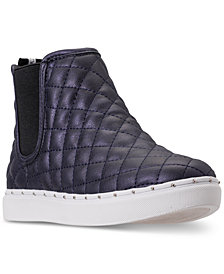Steve Madden Little Girls' JQuest High Top Casual Sneakers from Finish Line