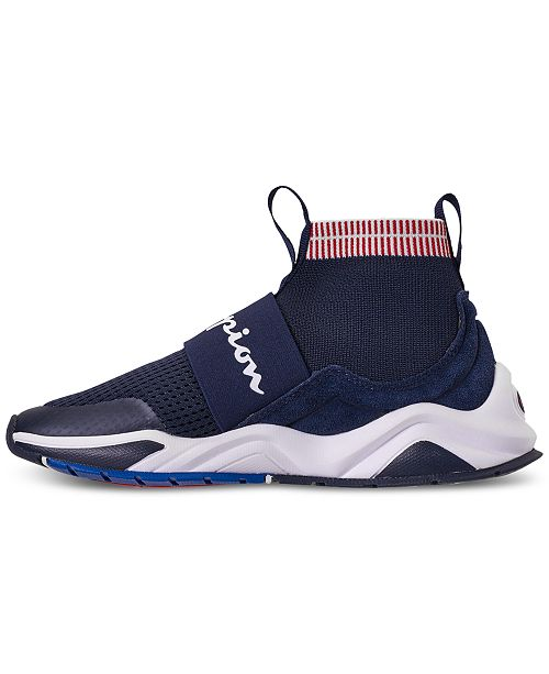ec69399708915 ... Champion Boys  Rally Pro Casual Athletic Sneakers from Finish Line ...