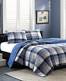 INK+IVY Maddox 3-Pc. Full/Queen Coverlet Set