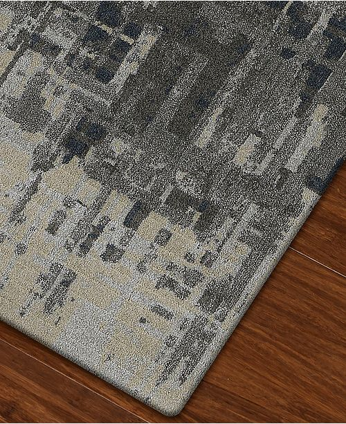 Macy S Fine Rug Gallery Mosaic Reece Pewter 7 10 Quot X 10 7