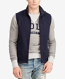 Polo Ralph Lauren Men's Big & Tall Fleece Mock Neck Vest