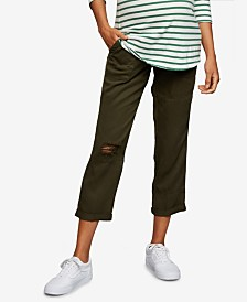 A Pea In The Pod Maternity Cargo Pants