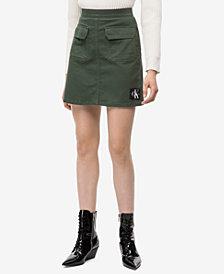 Calvin Klein Jeans Utility Mini Skirt