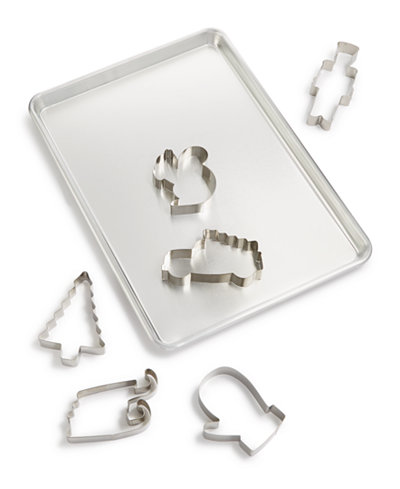 Martha Stewart Collection Cookie Sheet & Cutter Set, Created for Macy's
