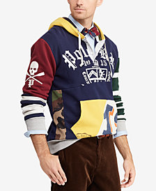 Polo Ralph Lauren Men's Patchwork Rugby Hoodie