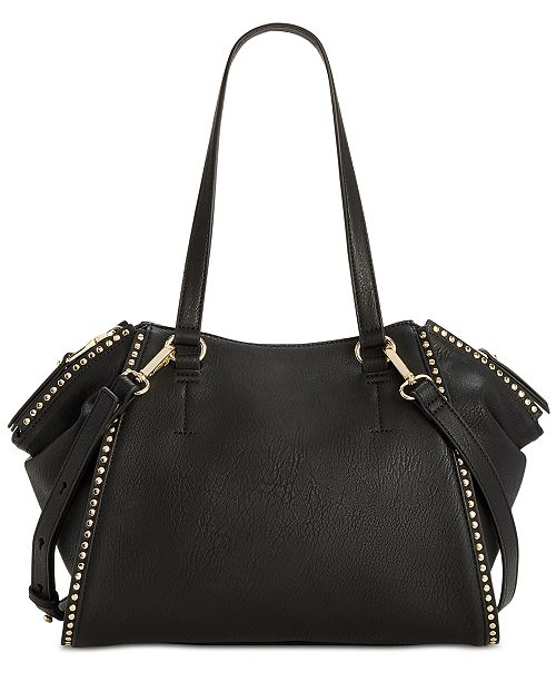 Inc International Concepts I N C Hazell Studded Shoulder Bag Created For Macy S Handbags Accessories