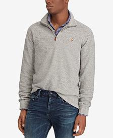 Polo Ralph Lauren Men's Estate-Rib Mock-Neck Pullover, Created for Macy's