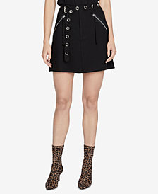 RACHEL Rachel Roy Zane Mini Skirt, Created for Macy's