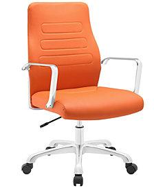 Modway Depict Mid Back Aluminum Office Chair