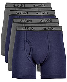 Men's 4-Pk. Mesh Boxer Briefs, Created for Macy's
