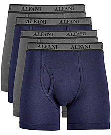 AlfaTech by Alfani Men's 4-Pk. Mesh Boxer Briefs, Created for Macy's