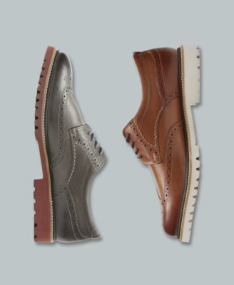 conrad03 Mens Oxford Lace-Up Dress-Shoes