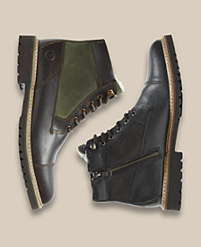 Rockport Men's Marshall Rugged Cap-Toe Boots, Created for Macy's