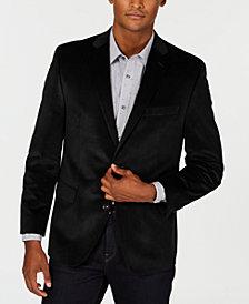 Michael Kors Men's Classic/Regular Fit Velvet Sport Coat