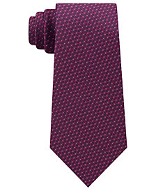 Michael Kors Men's Interconnected Lines Silk Tie