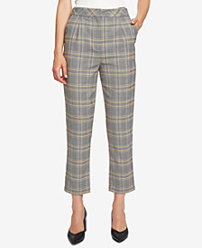 1.STATE Printed Ankle Pants