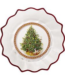 Christmas Tree Glass Bowl