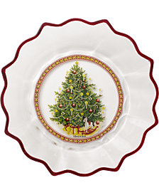 Villeroy & Boch Christmas Tree Glass Bowl