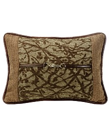 14x20 Tree Pillow with Buckle Detail