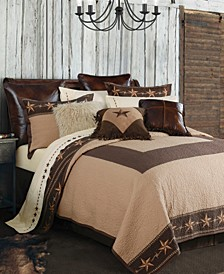 Star Ranch 3 Pc King Quilt Set