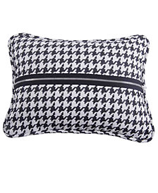 Houndstooth 17x13 Decorative Pillow