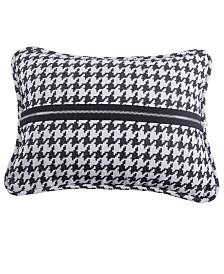 Houndstooth 17x13 Decorative Pillow