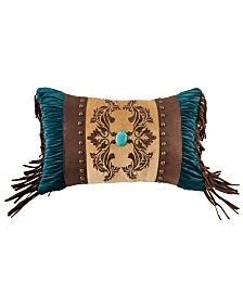 Faux Leather 12x19 Decorative Pillow