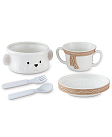 Lenox Baby Bear Stack Feeding 5-Pc. Set