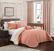 Chic Home Anat 5 Piece Queen Quilt Set
