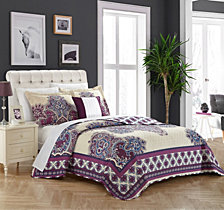 Chic Home Marion 4 Piece King Quilt Set