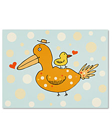 Carla Martell 'Bird and Baby' Canvas Art Print Collection