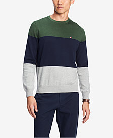 Tommy Hilfiger Men's Colorblocked Sweater, Created for Macy's