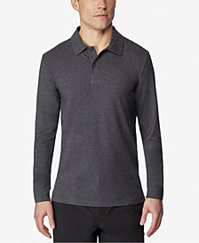 32 Degrees Men's Tech Long-Sleeve Polo