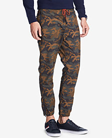Tommy Hilfiger Men's Relaxed Fit Camo Pants, Created for Macy's