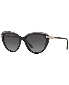 BVLGARI Polarized Sunglasses, BV8211B 55