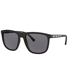 Polarized Sunglasses, EA4124 57