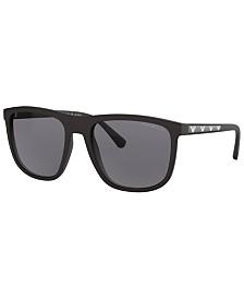 Emporio Armani Polarized Sunglasses, EA4124 57