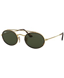 Sunglasses, RB3847N OVAL DOUBLE BRIDGE