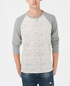 American Rag Men's Raglan Henley, Created for Macy's